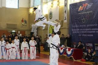 В Михайловке состоялся Первый в Приморье чемпионат таеквандо по системе ИТФ.