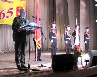 Суворовские училища страны  отметили 65-летие со дня основания