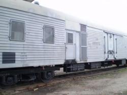 Железнодорожные вагоны в Уссурийске разбирают на металл