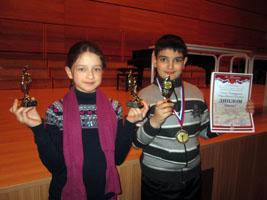 Юные уссурийцы приняли участие в международном конкурсе исполнительского мастерства в Санкт-Петербурге