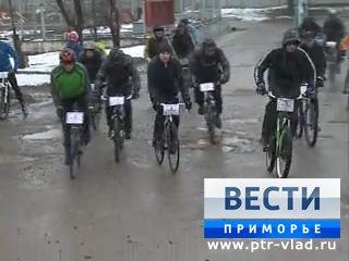 Приморские велосипедисты провели акцию памяти бойцов, погибших в локальных войнах