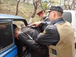 Полицейские в Уссурийске задержали автоугонщика