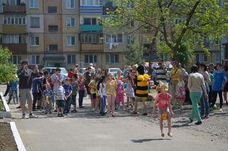 Спортивная игровая программа для детей состоялась на территории округа ТОС «Междуречье»