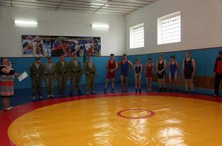 Новый спортивный зал для греко-римской, вольной и женской борьбы открылся в Уссурийском аграрном техникуме
