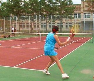 Турнир по большому теннису прошёл в Уссурийске