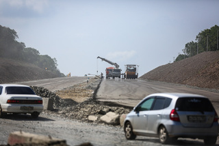 Асфальт на участке трассы М60 перед Уссурийском уложат до конца года