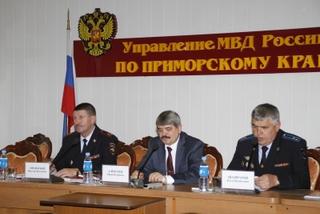 Замминистра внутренних дел РФ посетил Уссурийск