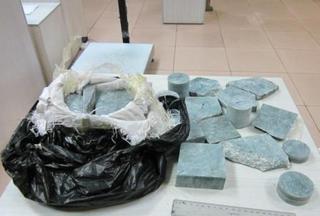 Уссурийские таможенники пресекли попытку вывоза нефрита в Китай