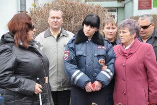 Акция «Незрячий - тоже пешеход» прошла в Уссурийске