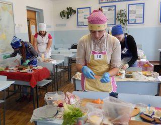 Конкурс кулинарного мастерства «Юный кулинар» прошёл в Уссурийске
