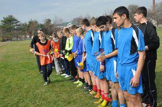 Турнир по мини-футболу прошёл в Уссурийском суворовском военном училище