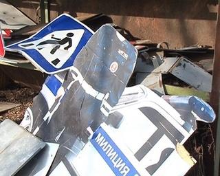 Чтобы заменить дорожный знак, нужно потратить 1,5 тысячи рублей