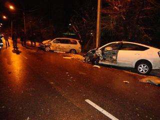 Пять человек пострадало в крупной аварии в Уссурийске