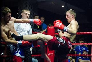 Уссурийские кикбоксёры достойно выступили на турнире по правилам К-1