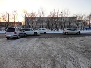 ДТП произошло в минувшее воскресенье в Уссурийске