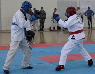 Открытый чемпионат по армейскому рукопашному бою состоялся в Уссурийске