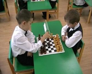 Шахматная олимпиада среди воспитанников детских садов