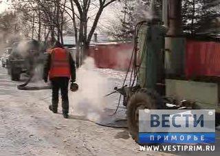Почти 100 уличных колонок Уссурийска оьорудовали электрообогревом
