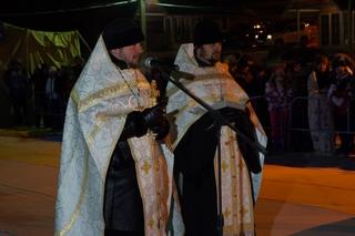 Около 7 тысяч жителей Уссурийска окунулись в прорубь на Крещение