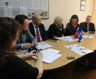 Члены Общественного совета подвели итоги работы Общественной приемной в Уссурийске