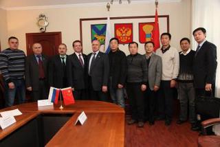 Китайская делегация из города Суйфеньхэ посетила Уссурийск