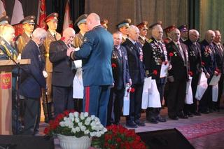 Ветеранов ВОВ и защитников Отечества чествовали в Уссурийске в честь 23 февраля