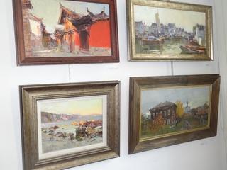 Художники Марина и Евгений Пихтовниковы впервые проводят выставку в Уссурийске
