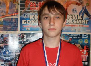 Уссурийский кикбоксёр привёз серебро со всероссийских соревнований