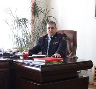 Начальник ОМВД Уссурийска Магомед Терчиев провел «прямую линию» с жителями города