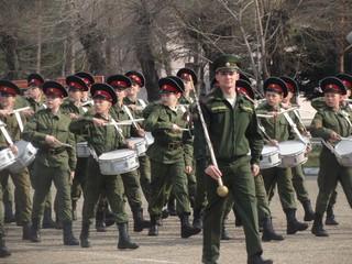 Рота барабанщиков Уссурийского суворовского училища откроет парад Победы в Хабаровске