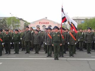 Репетиции парада Победы проходят в Уссурийске