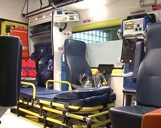 На станции скорой медицинской помощи новый автомобиль