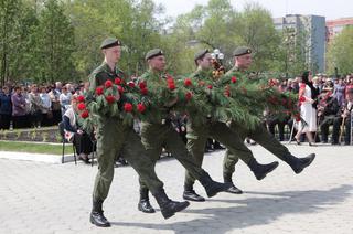 Железнодорожников, павших в боях за Родину в Великой Отечественной войне, почтили в Уссурийске