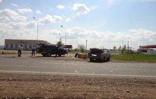Две машины столкнулись на автодороге «Уссурийск - Пограничный»