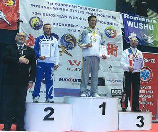 Уссурийские ушуисты стали призерами чемпионата Европы
