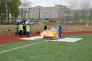 2 место заняли юные пожарные из Уссурийска в соревнованиях по пожарно-прикладному спорту
