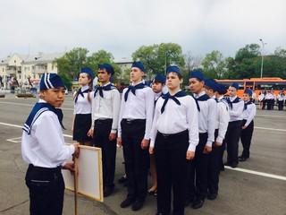 """Военно-спортивная игра  """"Зарница"""" выявила победителей в Уссурийске"""