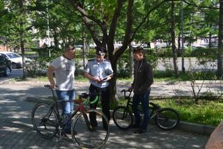 Сотрудники полиции Уссурийска провели профилактическое мероприятие «Береги велосипед»