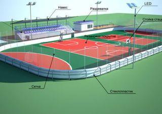 Две универсальных спортивных площадки появятся в Уссурийске
