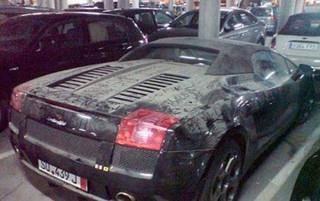 Заброшенные суперкары Дубая