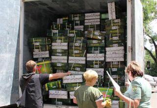Уссурийские таможенники передали для приморских детей более 5000 пар обуви