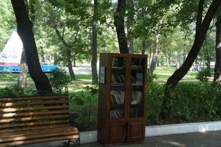 Уличный книжный шкаф появился в Уссурийске