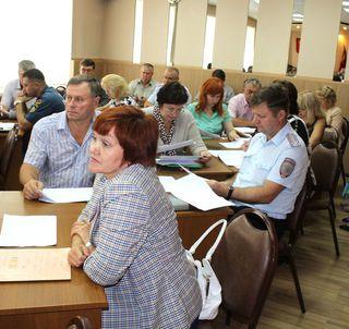 Очередное заседание антитеррористической комиссии прошло в Уссурийске
