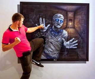 Выставка 3-D картин проходит в Уссурийске