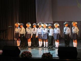 Праздничный концерт в честь полицейских дали в Уссурийске