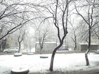 Уссурийск! Встречай первый снег