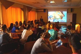 Молодежи Уссурийска презентовали центр по привлечению волонтеров на ЧМ-2015 в Казани