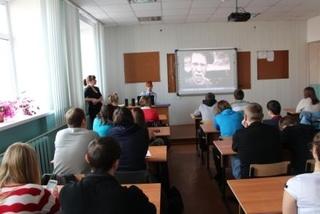 Транспортные полицейские Уссурийска встретились с учащимися автомобильно-технического колледжа