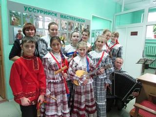 Юные фольклористы Уссурийска с успехом завершили Год культуры
