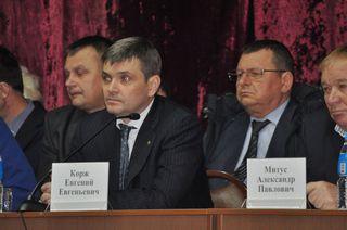 Выездную встречу с жителями городка Воздвиженский провел глава администрации УГО Евгений Корж